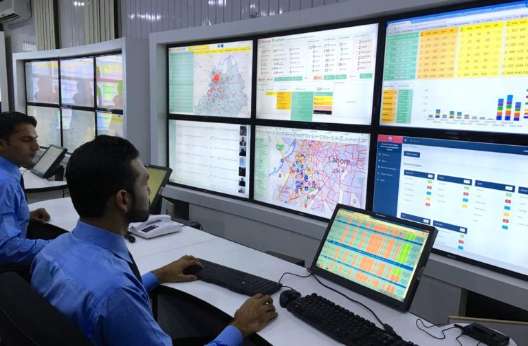 lahore police control room