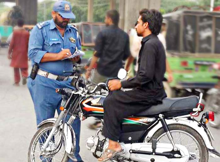 Traffic Challan in Lahore