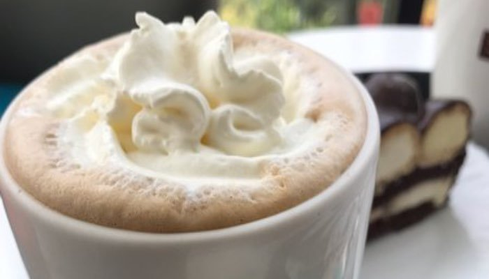 Second cup hot chocolate