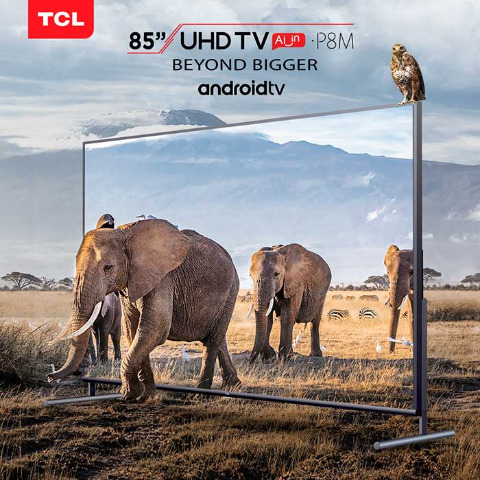 TCL P8M UHD TV Poster
