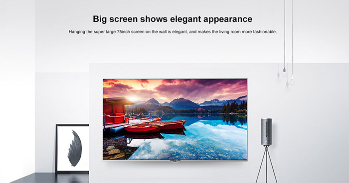 4K UHD Android TV big screen